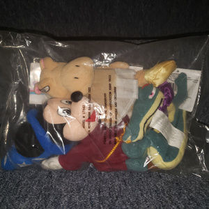 Disney Fantasia Mini Bean Bag plush set (Mickey)